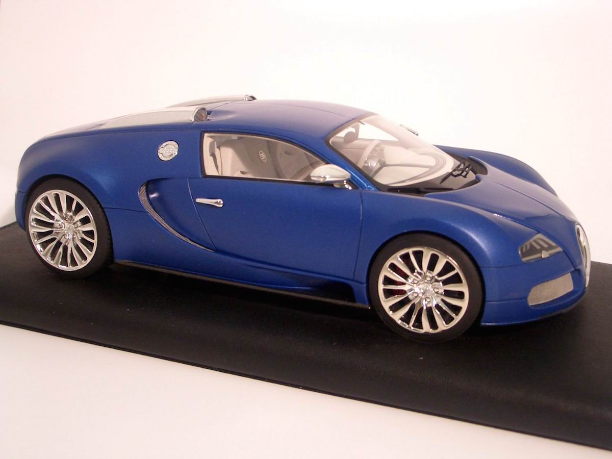 bugatti veyron 16 4 blue centenarie limited edition 30 pcs 1 18 mr collecti. Black Bedroom Furniture Sets. Home Design Ideas