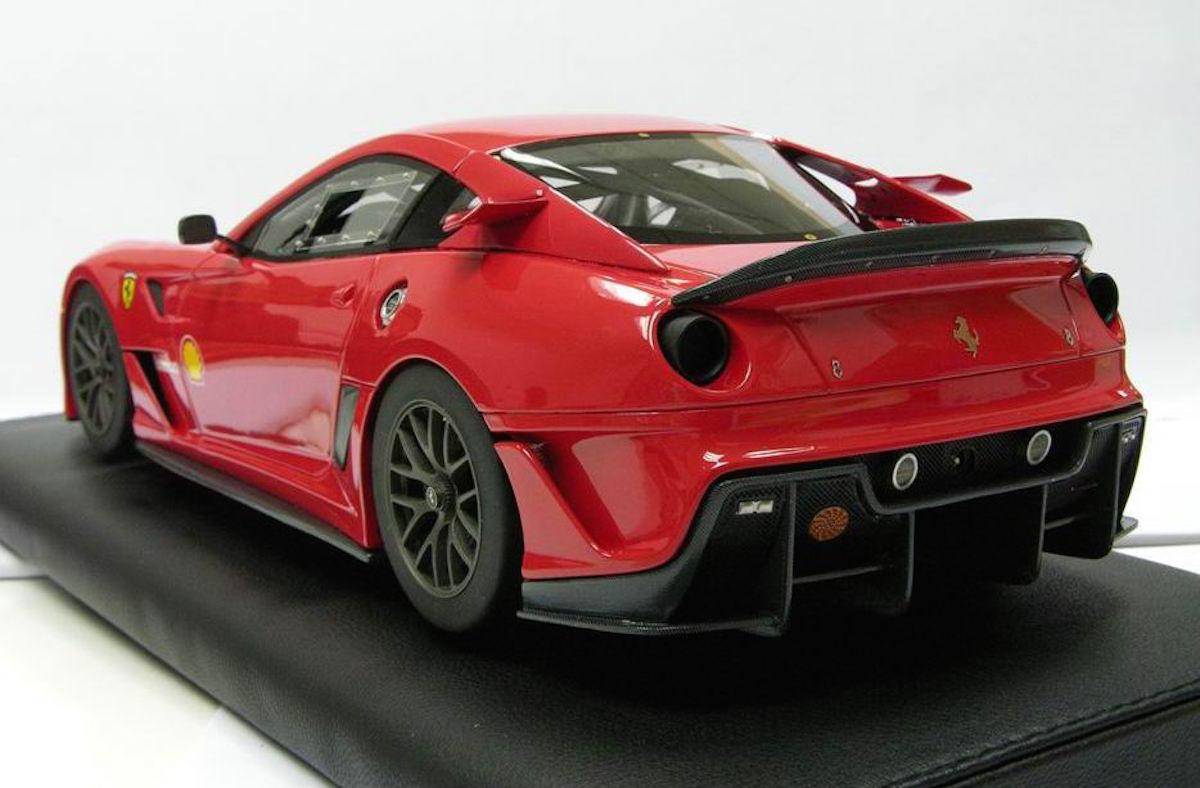 Ferrari 599xx Nurburgring Record Lap Time 1 18 Mr