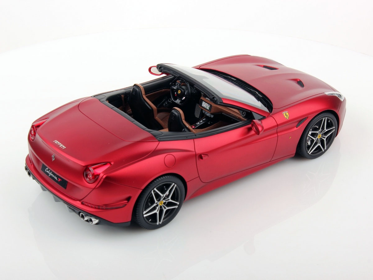 Ferrari California T >> Ferrari California T Open Top 1:18 | MR Collection Models