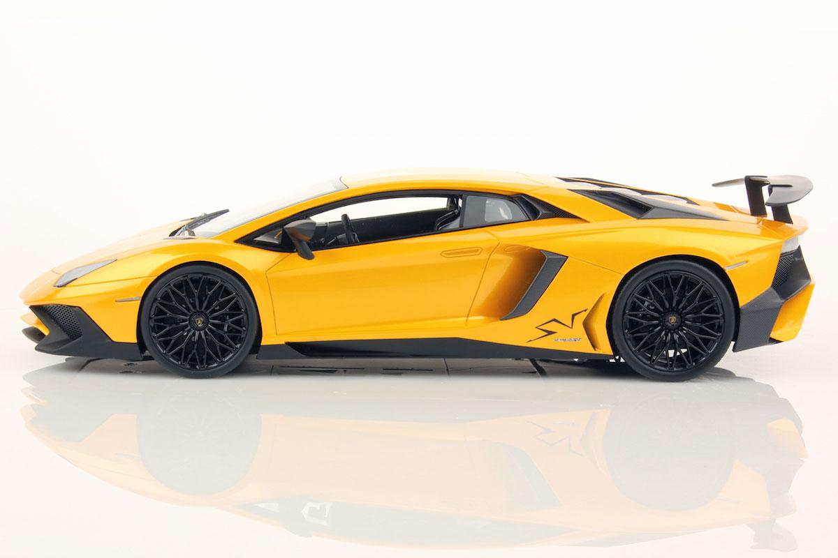 Lamborghini Aventador Lp 750 4 Superveloce 1 18 Mr