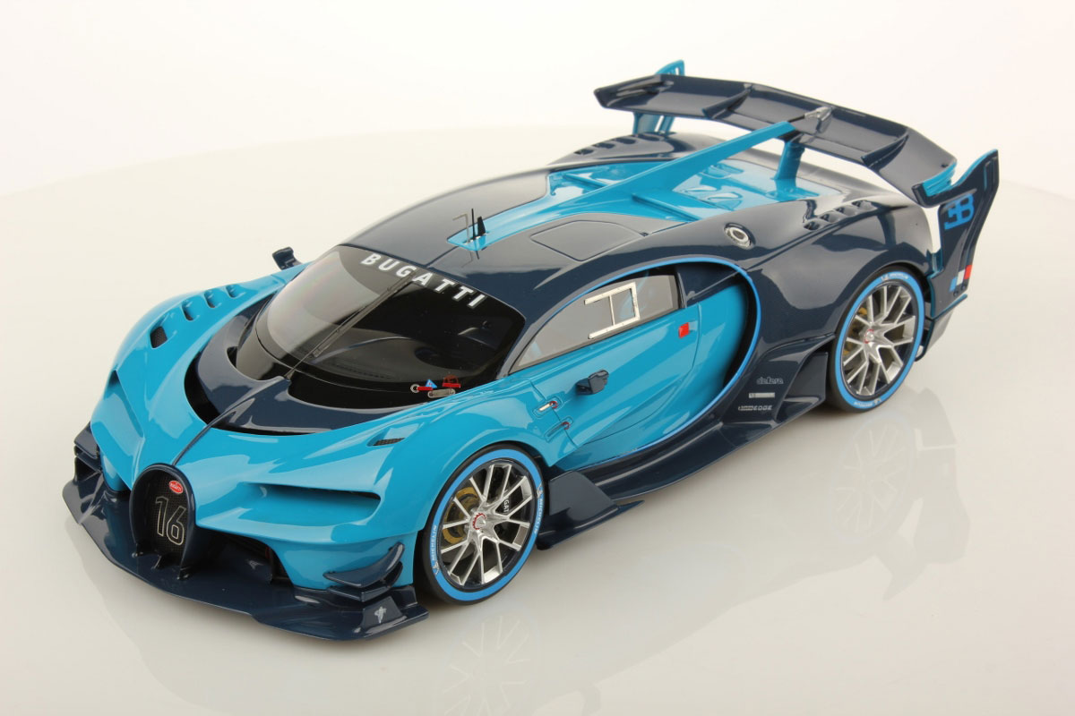 Bugatti Vision Gran Turismo 1 18 Mr Collection Models