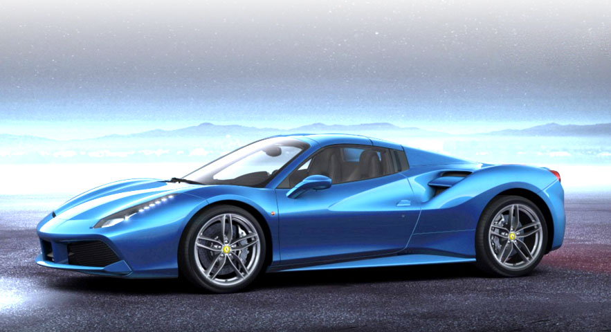 Ferrari 488 Spider Hard Top Scale 1 18 Mr Collection Models