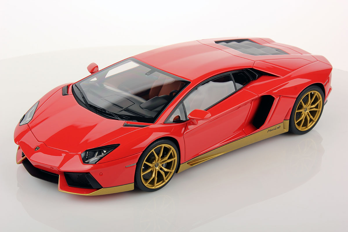 Lamborghini Aventador Lp 700 4 Miura Homage 1 18 Mr Collection Models