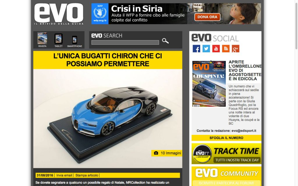 Click on the image to go to the article on Evo Magazine.